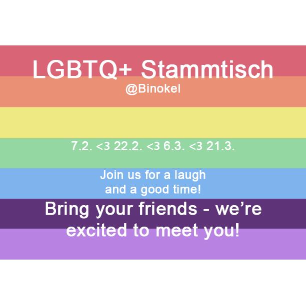 LGBTQ* Stammtisch